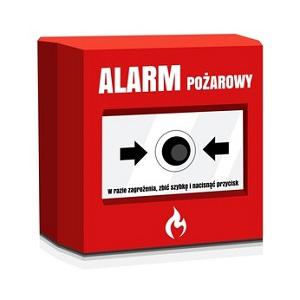 alarm pożar