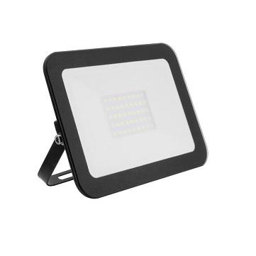 Naświetlacz LED supercienki szklany 30W czarny