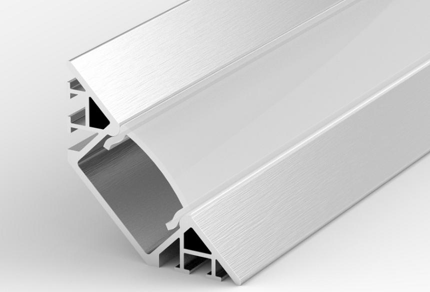 profil aluminiowy led kątowy do wpuszczania