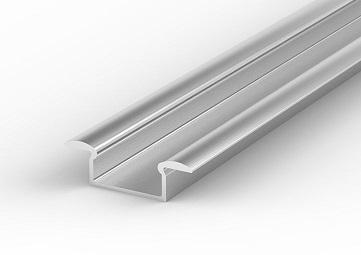 Profil aluminiowy LED P6 wpuszczany wąski do taśm ledowych Tech Light