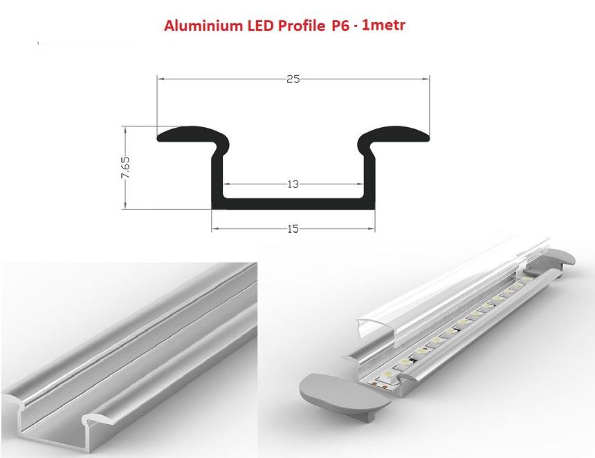 profil aluminiowy p6