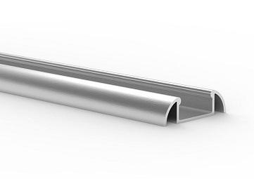 Profil LED aluminiowy nawierzchniowy P2 wąski slim 1m Tech Light