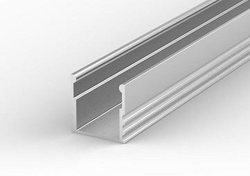 Profil LED aluminiowy P5 nawierzchniowy głęboki anodowany 1m Tech Light