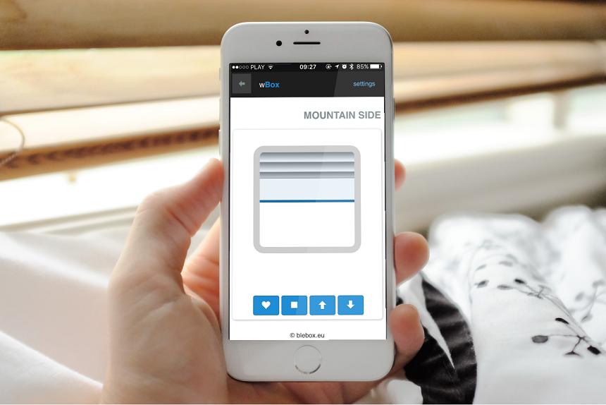 shutterbox sterowanie roletami przez smartfona