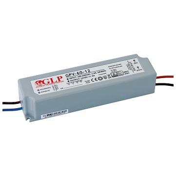 Zasilacz LED napięciowy hermetyczny IP67 12V 5A 60W GLP GPV-60-12
